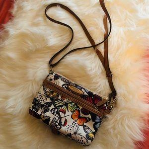 Butterfly print crossbody bag 🦋